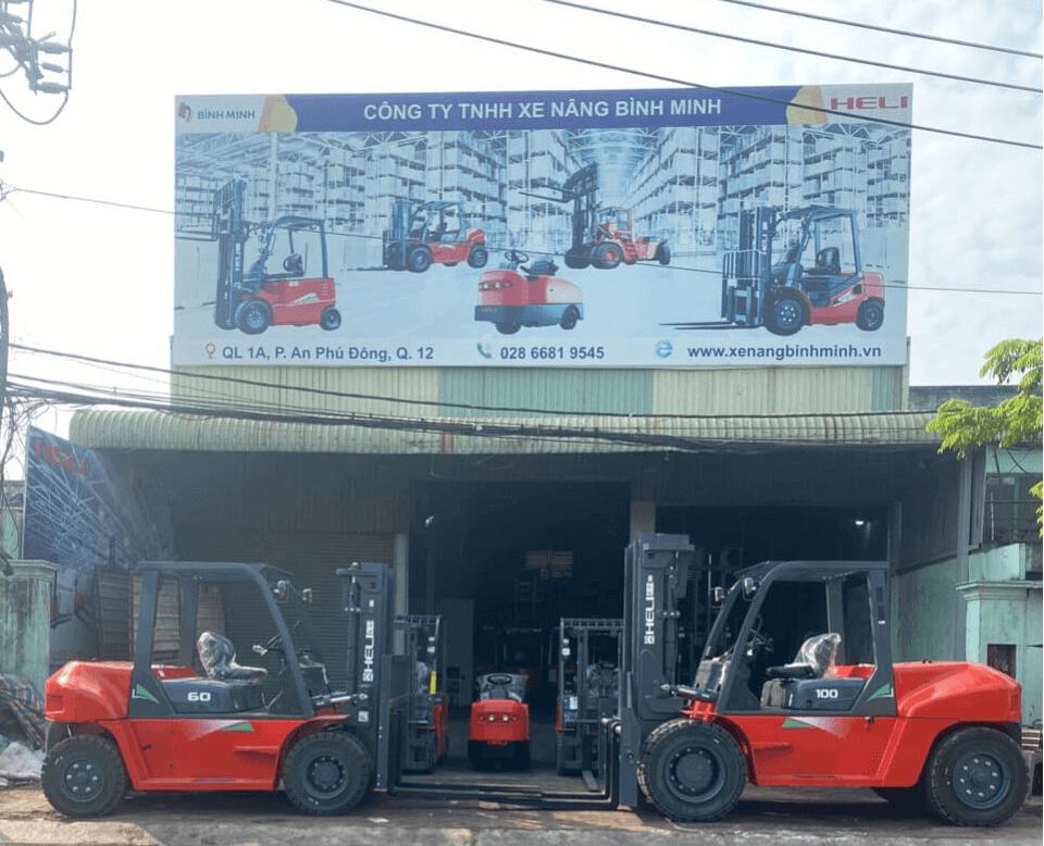 Xe nâng Heli tại tp Hồ Chí Minh
