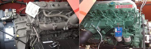 Động cơ isuzu 6BG1 và động cơ Faw