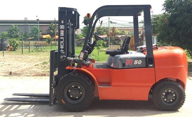 Xe nâng dầu 5 tấn Heli dòng H Series