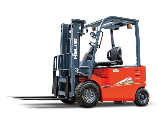Xe nâng điện 2 tấn Heli cao cấp