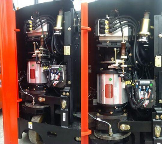 Motor xe nâng điện đứng lái Reach Truck