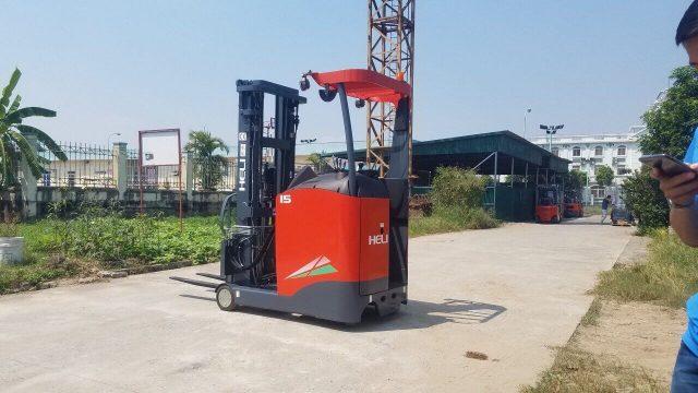 Xe nâng điện Reach Truck Heli 1.5 tấn