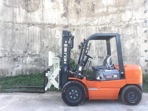 Xe nâng 2 tấn - 3 tấn Heli lắp bộ gật gù